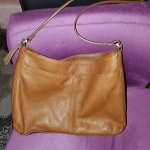 St Johns Bay Medium Leather Hobo Bag